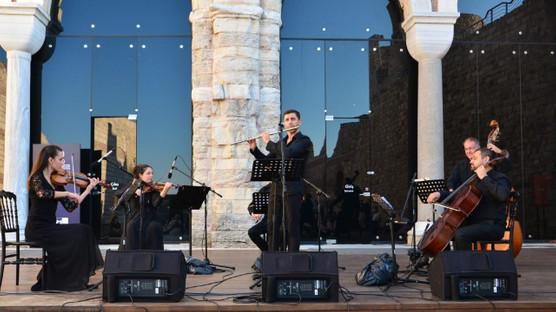 Bülent Evcil ve İstanbul Virtüözleri, Tekfur Sarayı Müzesi'ndeydi